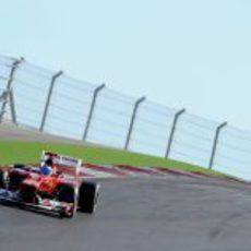 Fernando Alonso terminó en el podio en el Circuito de las Américas