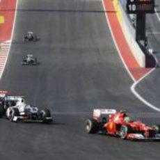 Felipe Massa obtuvo una gran cuarta posición en Austin