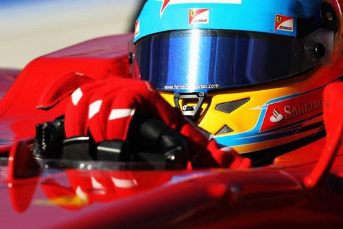 Fernando Alonso en acción en el Circuito de las Américas