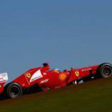 El F2012 de Fernando Alonso en Estados Unidos
