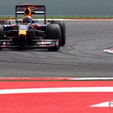Mark Webber en el GP de España 2009