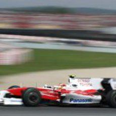 Glock en el GP de España 2009