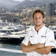 Button en el GP de Mónaco