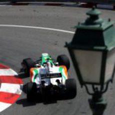 Fisichella en Mónaco