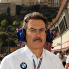 Theissen en el GP de Mónaco