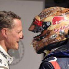 Schumacher felicita a Vettel por su 'pole' en Estados Unidos