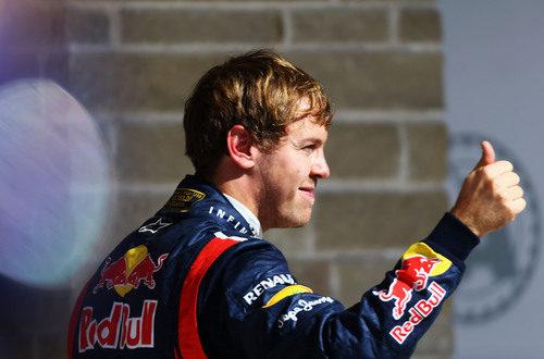 Vettel hace la 'pole' otra vez, en Austin