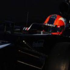 Bruno Senna en la clasificación del GP de Estados Unidos 2012
