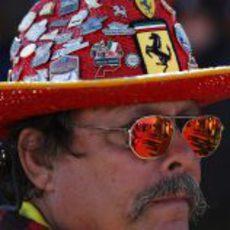 Un estadounidense fan de Ferrari