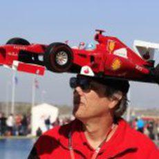 Con Ferrari en la cabeza