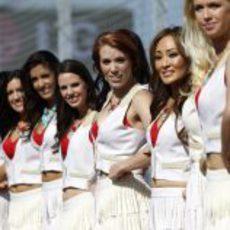 Más 'pit babes' del GP de Estados Unidos 2012