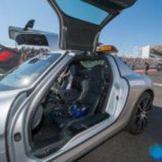 El coche de seguridad de la FIA en Austin