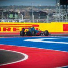 Lewis Hamilton lidera la carrera del GP de Estados Unidos 2012