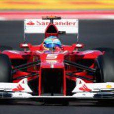 Fernando Alonso en la carrera de Austin