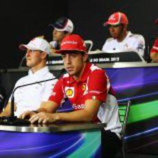 Rueda de prensa de la FIA del jueves en el GP de Brasil 2012