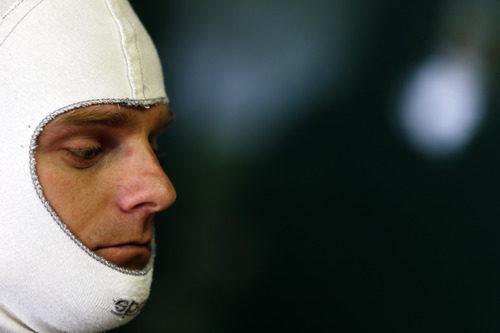 Heikki Kovalainen serio en Interlagos