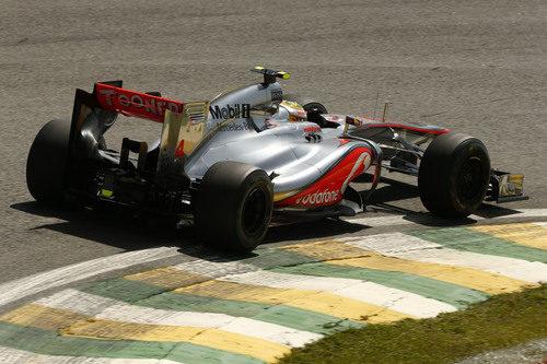 Lewis Hamilton fue el más rápido en toda la primera jornada en Brasil