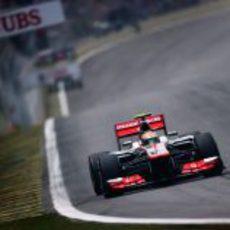 Hamilton busca la 'pole' en el GP de Brasil 2012