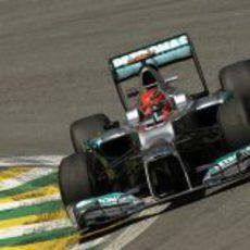 Michael Schumacher en la última clasificación de su trayectoria en la F1