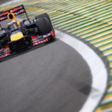 Sebastian Vettel terminó cuarto en la clasificación de Interlagos