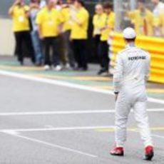 Michael Schumacher se retira de la Fórmula 1 en Brasil