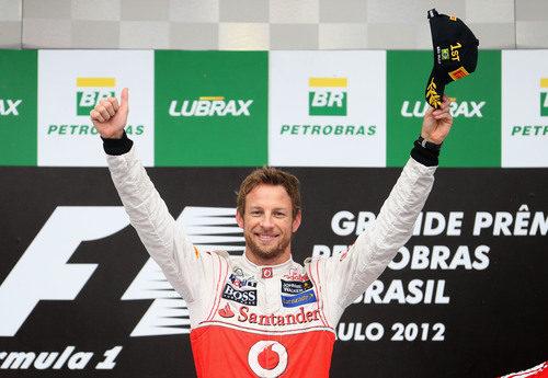 Jenson Button gana el GP de Brasil 2012