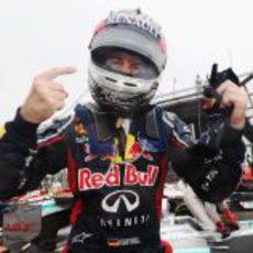 Sebastian Vettel gana el Mundial en el GP de Brasil 2012