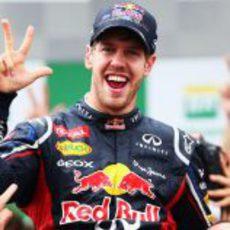 El tricampeonato del Mundo es para Sebastian Vettel