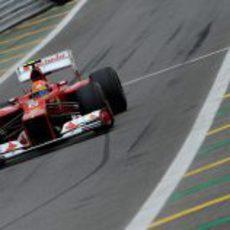Felipe Massa logró un fantástico quinto puesto en la clasificación del GP de Brasil 2012