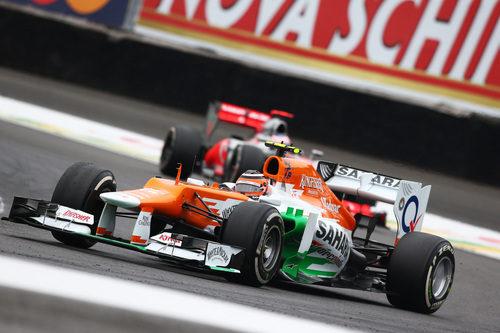 Nico Hülkenberg terminó quinto el GP de Brasil 2012