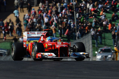 Fernando Alonso completa la clasificación en Austin