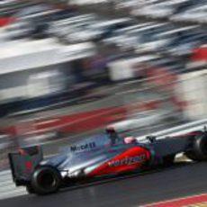 Jenson Button termina quinto el GP de Estados Unidos 2012
