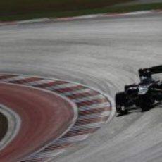 Kimi Räikkönen terminó en Austin en la sexta posición