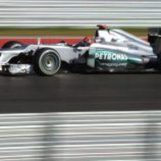 Michael Schumacher no tuvo nada de ritmo en el GP de Estados Unidos 2012