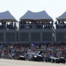 Bruno Senna terminó décimo el GP de Estados Unidos 2012