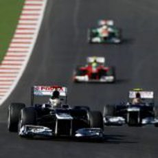 Pastor Maldonado fue rápido en el circuito de Austin