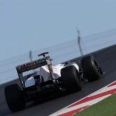 Kamui Kobayashi terminó 14º en la carrera del Circuito de las Américas