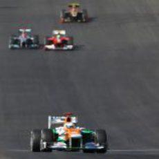 Paul di Resta cruzó la meta en Austin en 15º lugar