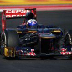 Daniel Ricciardo casi roza los puntos en el GP de Estados Unidos 2012