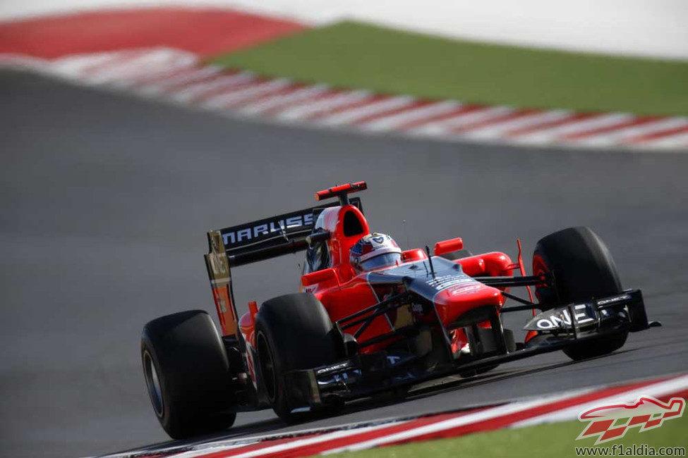 Timo Glock superó a los HRT en la primera carrera de Austin