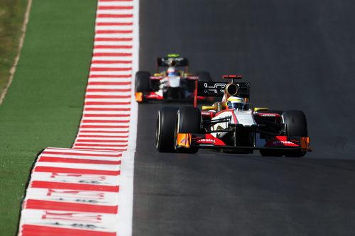 Pedro de la Rosa superó a su compañero en el GP de Estados Unidos 2012