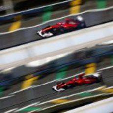 Fernando Alonso en los libres del GP de Brasil 2012