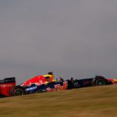 Sebastian Vettel completa los Libres 2 en Interlagos