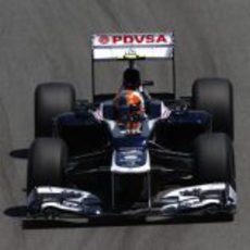 Bruno Senna recuperó el FW34 en los Libres 2 de Brasil