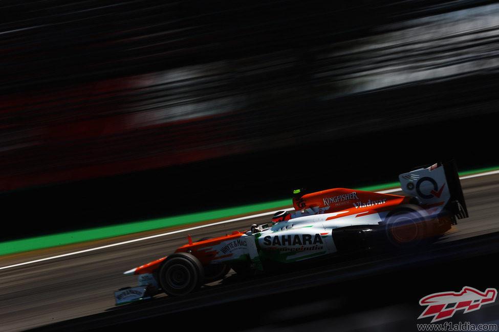 Nico Hülkenberg en los libres del GP de Brasil 2012