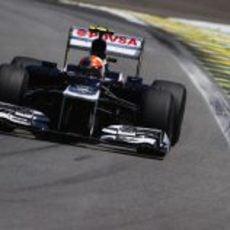 Bruno Senna en los libres de Interlagos 2012