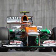 Nico Hülkenberg completa el último fin de semana con Force India