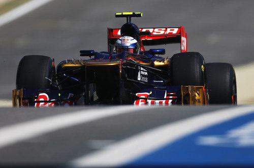 Jean-Eric Vergne en los Libres 1 del GP de Brasil 2012