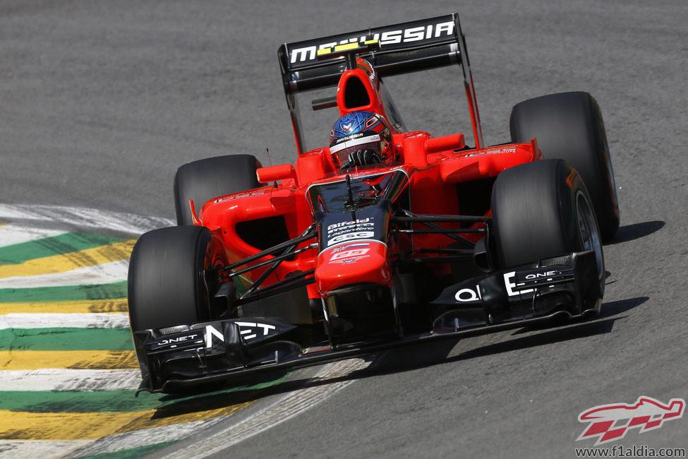 Charles Pic rueda por última vez para Marussia