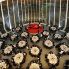 Cena de apertura de las 'Ferrari World Finals 2012'